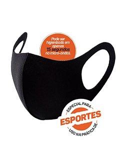 Mascara Multiesportiva com Elastano para Proteção Facial 09115 - Poker