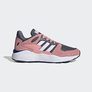 Tênis Adidas Chaos Feminino - Rosa e Branco EG8765