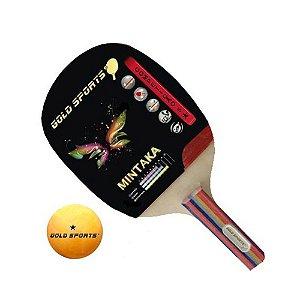 Raquete Tenis De Mesa Gold Sports Mintaka LC36-C