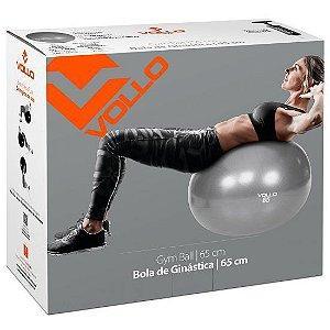 GYM BALL 65 CM CINZA VP1035