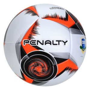 Bola de Futsal Penalty Max 400 X CBFS - Branco e Preto