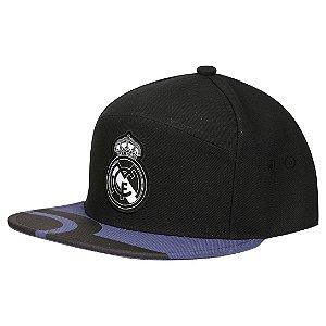 Boné Adidas Real Madrid  Preto Aba Reta