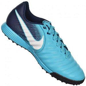 Chuteira Nike TiempoX Ligera IV Marinho/Azul Claro - 897766-414