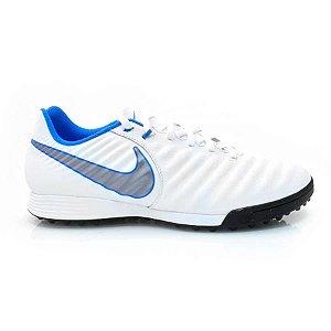 Chuteira Nike TiempoX Ligera IV Marinho/Azul Claro - AH7243-107