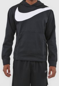 Blusão Nike Moletom Flanelado Fechado Po Hbr Preto CK6458-010