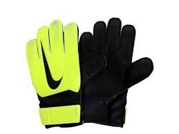 Luva Infantil Nike Gs0368-702 Junior Match Goalkeeper Preto/limão