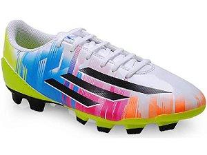 Chuteira Adidas Campo F32749 f5 Trx fg Messi Branco/color