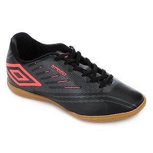 Chuteira Futsal Umbro Speed IV - Preto e Grafite
