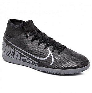 Tênis Futsal Nike Superfly 7 Club AT7979-001 Preto/Cinza