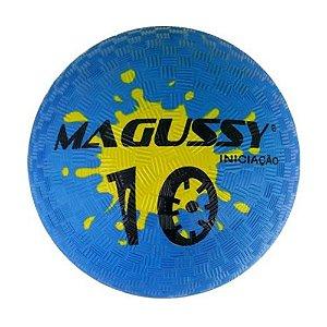 Bola Magussy Iniciação de Borracha N°10 - Azul