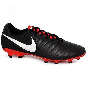 Chuteira Campo Nike Legend 7 Academy AO2596-006 Preto/Branco