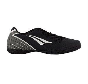 Chuteira Penalty Speed Futsal - Preto - Adulto