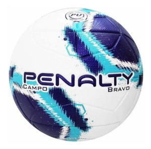 Bola De Futebol Campo Penalty Bravo Bc-AZ-Rx