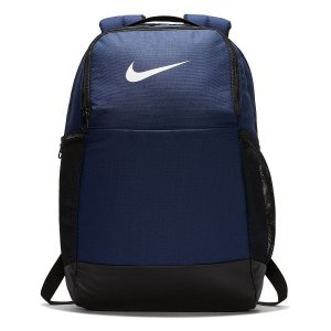 Mochila Nike Brasília 9.0 24 Litros - Marinho e Preto BA5954-410