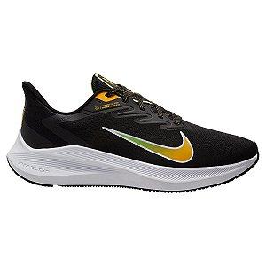 Tênis Nike Zoom Winflo 7 Masculino - Preto e Gelo CJ0291-007