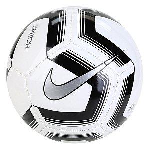 Bola de Futebol Campo Nike Train Pitch II Team - Branco e prata SC3893-100