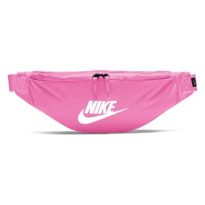 Pochete Nike Heritage Hip Pack - Rosa e Branco BA5750-609
