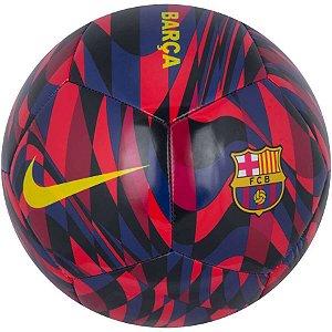 Bola de Futebol de Campo Barcelona Nike Pitch CQ7883-620