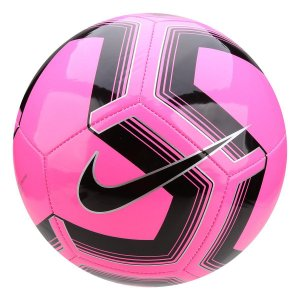 Bola de Futebol Campo Nike Train Pitch II Team - Pink e Preto SC3893-639