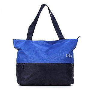 Bolsa Fila Duo Color - Azul Royal e Marinho