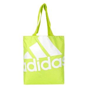 Bolsa Adidas Shopper Favourite Feminina - Branco e Verde Limão AI9138