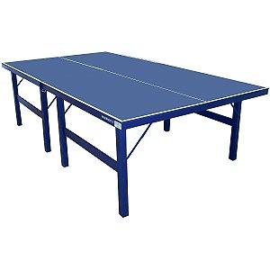 Mesa de Ping Pong / Tênis de Mesa Procópio 18mm MDF Luxo - Azul