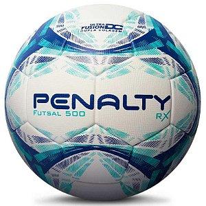 Bola de Futsal Penalty RX R1 500 X Bca Azul