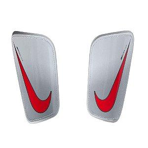 Caneleira Nike Mercurial Hard Shell - Cinza e Vermelho SP2128-043