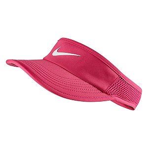 Viseira Nike Arobill ADJ - Rosa e Branco - 899656-616