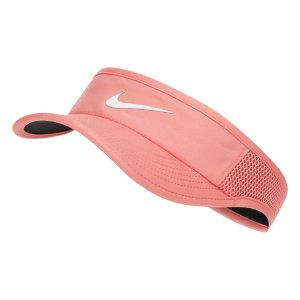 Viseira Nike Arobill ADJ Feminina - Rosa e Branco - 699656-655