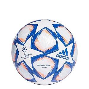 Bola de Futebol Adidas UCL Finale 20 League Campo - Branco - F80256