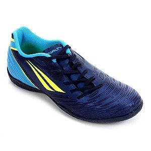 Chuteira Futsal Penalty Speed XX - Marinho e Amarelo