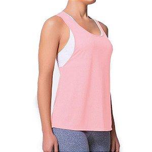 Regata Selene Fitness Feminina - Rosa
