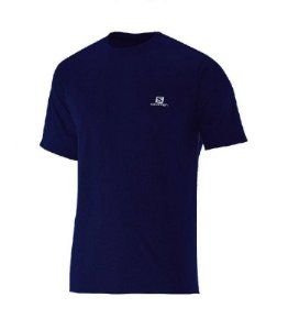 Camiseta Salomon Training VII SS Marinho
