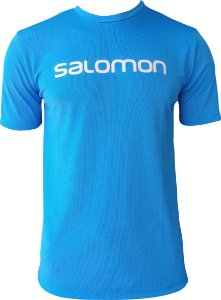 CAMISETA SALOMON TRAINING VI SS Azul