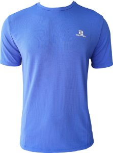 CAMISETA SALOMON TRAINING VII SS AZUL