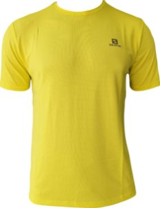 CAMISETA SALOMON TRAINING VII SS  VERDE LIMAO