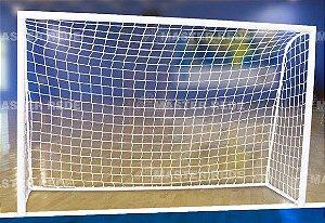 Rede para Futebol de Salão Tradicional (Futsal) Fio 4mm Nylon