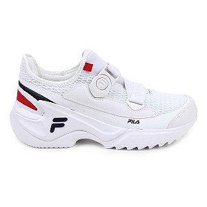 Tênis Fila F-Loop Feminino - Branco e Vermelho