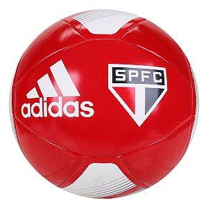 Bola de Futebol Campo Adidas São Paulo Club - Vermelho e Branco GN3059