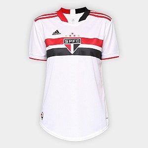 Camisa Adidas São Paulo SPFC I - Feminina