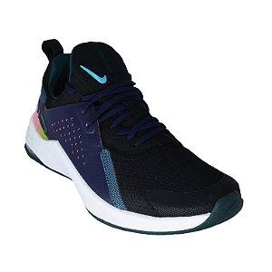 Tênis Nike Air Max Bella Tr 3 Feminino - Preto+Azul