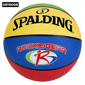 Bola Basquete Spalding Rookie Gear JR. Tamanho 5 - Mirim