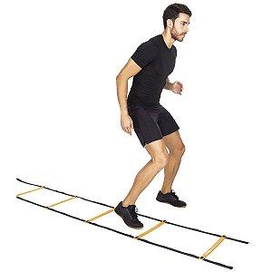Escada De Agilidade Vollo Vp 1012 Vollo Sports 4 Metros - Laranja