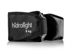 Caneleira de Peso 8Kg Hidrolight - Preto - Tornozeleira ID1775