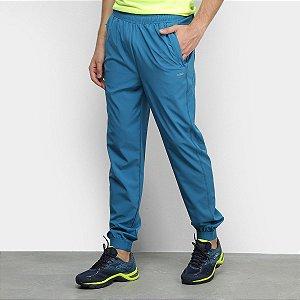 Calça Olympikus Performance Masculina - Azul - Bolso com Ziper