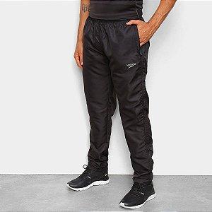 Calça Speedo Texture Masculina - Preto - Com Ziper no Bolso
