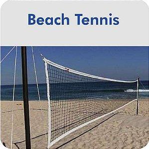 Rede De Beach Tennis Master Rede Oficial - Branca