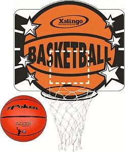 Tabela de Basquete + Bola Basquete