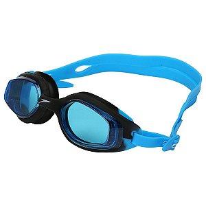 Óculos De Natação Speedo Smart SLC- Preto+Azul